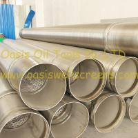 Cheap Stainless steel 316L pipe base screen pipe/johnson screens/water well screens wholesale