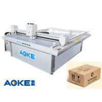 Cheap DCZ50 corrugated cardboard carton box sample maker flatbed cutter table machine for sale