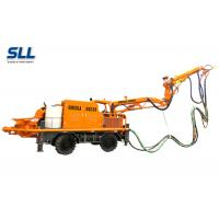 Cheap Robotic Telescopic Arm Concrete Pumping Machine For Mine / Tunnel / Construction for sale