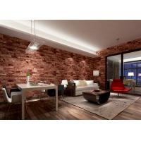 Removable 3d Brick Effect Wallpaper Living Room Wall