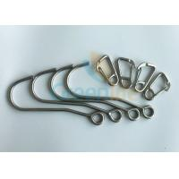 Buy cheap Coil Tool Lanyard Lanyard Accessories Iron Hook Stainless Steel D Carabiner from wholesalers