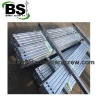 Cheap Square bar screw anchors are used for stabilize the foundation for sale