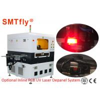 Flexiable Printed Circuit PCB Depanelizer Machine , Laser PCB Board Cutting Machine