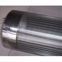 Cheap johnson v wedge wire stainless steel water well pipe screen new years special for sale