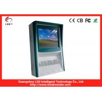 Cheap Traffic Department Vandal Proof Outdoor Touch Screen Kiosk With Alcohol Tester for sale