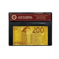 Quality COA 24k Gold Banknote wholesale