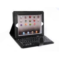 Cheap ABS Bluetooth Keyboard samsung galaxy tab lesther Case with handle and clip for ipad for sale