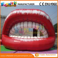 Cheap 5m Long Red Advertising Inflatables Big Month Ladies Lip for Promotion wholesale