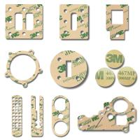 Buy cheap Precision Custom Kiss Cut Tape , Die Cutting Adhesive Tape Solutions from wholesalers