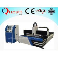 Cheap Automatic Fabric Cutting Machine With X Y Axis Table , Servo Motor Metal Laser Cutter for sale