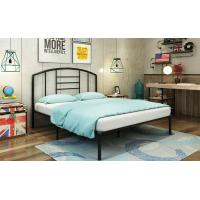 Cheap Simple Metal Frame Bed / Modern Iron Bed  Durable Adult Bedroom Bed Steel Material for sale
