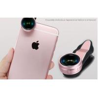 Cheap Professional 3 In 1 Clip On Smartphone Camera Lens For Iphone LX-019 wholesale