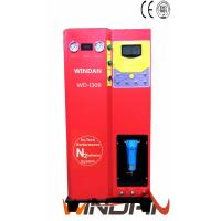Cheap Car And Truck Tires Nitrogen Inflator Machine with Carbon Steel Cabinet , Electric Tyre Inflator for sale