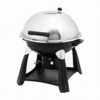 Cheap S/S Trolley Charcoal BBQ Grills, Easy for Taking Outdoor for sale