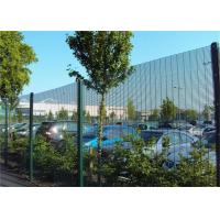 Cheap Industrial Anti Climb Prison Fence Hot Dipped Galvanized Steel Material for sale