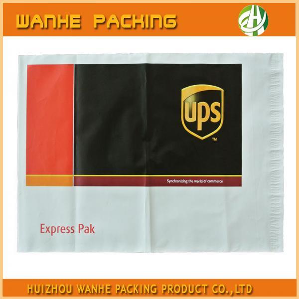 Quality Pressure seal ups envelope mail bag for UPS plastic parcel packing wholesale
