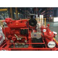 Cheap High Speed EDJ Split Case Fire Pump For Thermal Power Plants 500gpm for sale