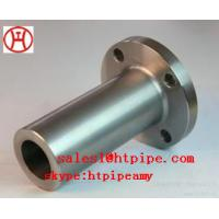 Cheap ASTM B564 UNS N04400  UNS N06600 nickel alloy forged long WN  flange ASME B16.5 wholesale