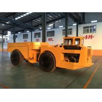 Cheap Yellow Heavy Duty Low Profile Dump Truck For Underground Mining for sale