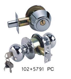 China Bathroom Door Lock Set (SKL-102+5791PC) on sale