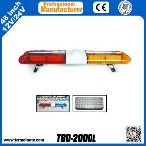 Cheap Led Warning Lightbar Emergency Vehicle Light bar TBD-2000L China manufacturer ( South America) for sale