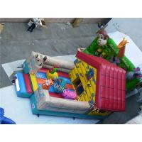 Cheap inflatable bounce-outdoor playground equipment inflatable indoor playground for sale