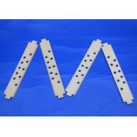 China High Temperature Resistant 99.5% Al2O3 Alumina Ceramic Strips with Porous Holes on sale
