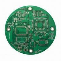 Cheap Double Sided PCB with Lead Free HASL Finish, Halogen Free Material, RoHS Compliant, 2-layer PCB for sale