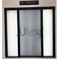 Cheap Detachable fly screen door with Polyester pleated insect screen mesh for sale