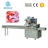 Cheap Horizontal Flow Candy Wrapping Machine Touch Screen High Speed 2.4KW for sale