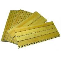 Cheap GUTTER WOOD ACOUSTIC PANEL 2440*128 for sale