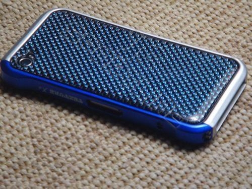 China apple iphone 4 4G real carbon fiber Aluminum bumper Case
