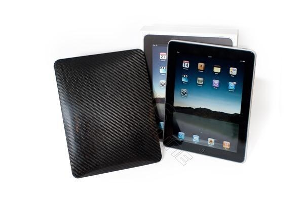 China 100% real carbon fiber apple ipad shield case (twill weaven)