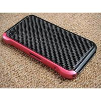 Buy cheap apple iphone 4 4G real carbon fiber Aluminum bumper Case from wholesalers