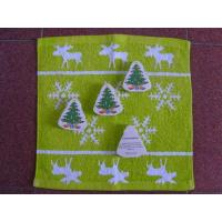China Christmas Tree Shape Compressed Towel on sale