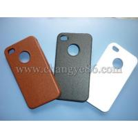 China leather touch,rubberized case for iphone 4g case on sale