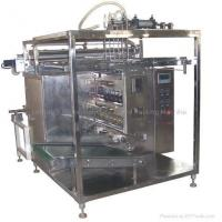 China 6 Rows Automatic Liquid Packing Machine on sale