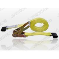 Cheap Ratchet Strap with Flat Hooks for sale