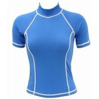 China Rash Guard Shirt WoMen's Short Sleeve  LV-14 on sale