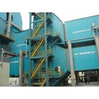 Power plant flue gas desulfurizing system