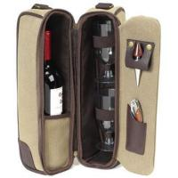Cheap Picnic at Ascot Hudson Deluxe Wine Pouch and Glasses for sale