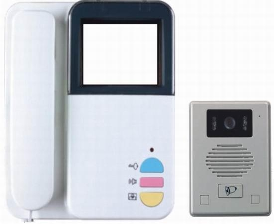 China Two - villa-style black-and-white video doorbell