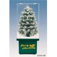 Cheap Snowing Fibre Optic Tree in Transparent Case for sale
