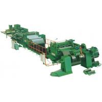 Cheap high speed uncoiling-leveling-cut to length-stacking line for sale