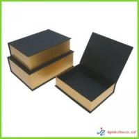 Cheap rigid book shaped box for sale