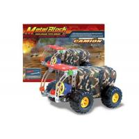 Cheap metal puzzle series Intelligence Custom Military trucks for sale
