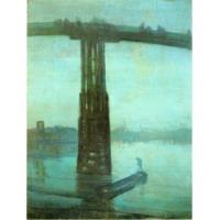 Cheap Impressionist(3830) Nocturne_Blue_and_Gold_Old_Battersea_Bridge for sale