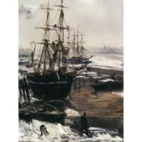 Cheap Impressionist(3830) The_Thames_in_Ice for sale