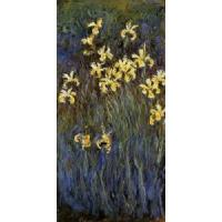 Cheap Impressionist(3830) Yellow_Irises_3 for sale