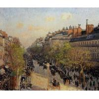 Cheap Streets(103) Boulevard_Montmartre_-_Sunset for sale